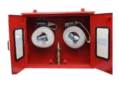 MS Double Door Hose Box